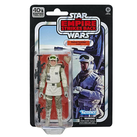 Hasbro Star Wars The Black Series Rebel Soldier Hoth 40th Anniversary Empire Stirkes Back TESB Box Package Front