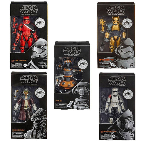 Hasbro Star Wars The Black Series 5-Figure Bundle box package front hondo ohnaka commader pyre captain cardinal DJ R-3X Mountain Trooper