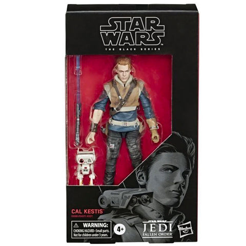 Hasbro Star Wars The Black Series 93 Cal Kestis Box package front