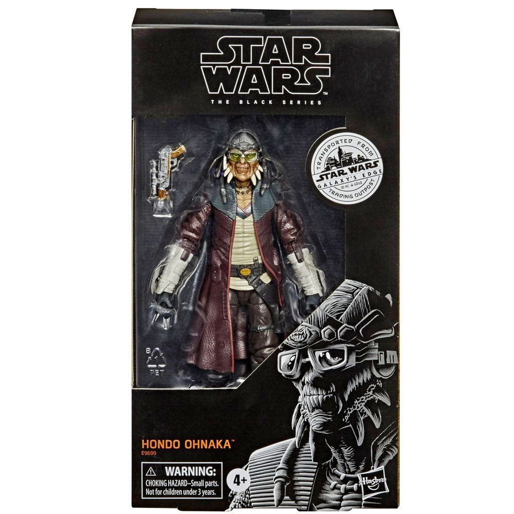 Buy Star Wars Black Series Galaxy S Edge Outpost Hondo Ohnaka Toy Collecticon Toys