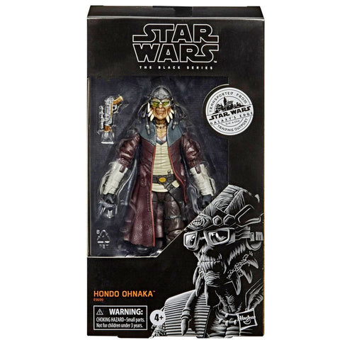 Hasbro Star Wars The Black Series Galaxy's Edge Trading Outpost Target Exclusive Hondo Ohnaka box package front