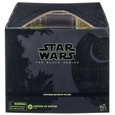 Hasbro Star Wars The Black Series ROTJ Pulsecon 2020 exclusive Heroes of Endor Giftset box package front