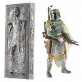 Hasbro Star Wars The Black Series SDCC 2013 Boba Fett & Hand Solo in Carbonite Giftset Action Figure Toys