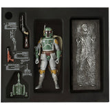 Hasbro Star Wars The Black Series SDCC 2013 Boba Fett Han Solo in Carbonite Giftset inner package
