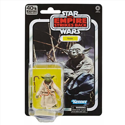 Hasbro Star Wars The Black Series TESB Empire 40th Anniversary Yoda Box Package Front