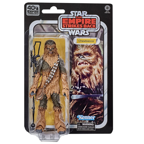 Hasbro Star Wars The Black Series TESB 40th Anniversary Chewbacca Box package front