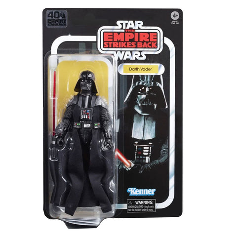 Hasbro The Black Series Empire 40th Anniversary Darth Vader Box package Front