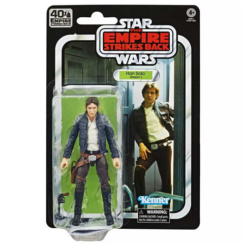 Hasbro Star wars The Black Series 40th Anniversary retro TESB empire Han Solo Bespin Box package Front