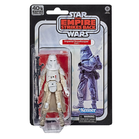 Hasbro Star Wars The Black Series 40th Anniversary Imperial Snowtrooper Box package Front
