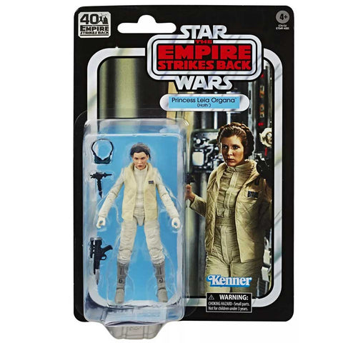 Hasbro Star Wars The Black Series Empire 40th Anniversary TESB Princess Leia Organa Hoth Box Package Front