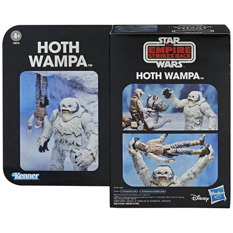 Hasbro Star Wars The Black Series TESB Empire Strikes Back 40th Anniversary Hoth Wampa Deluxe box package front