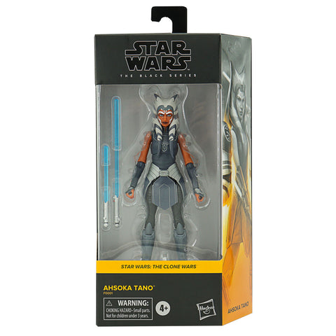 Hasbro Star Wars The Black Series Clone Wars Ahsoka Tano 6-inch Box Package Front Walmart
