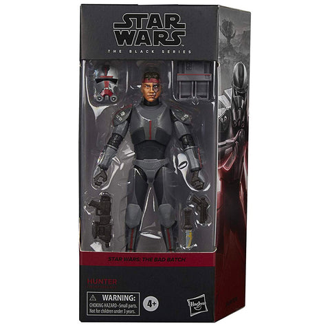 Hasbro Star Wars The Black Series Bad Batch Hunter Box package front