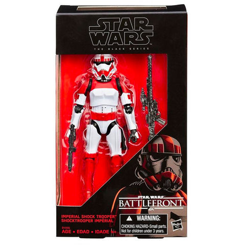 Hasbro Star Wars The Black Series Battlefront Imperial Shock Trooper Box Package Front