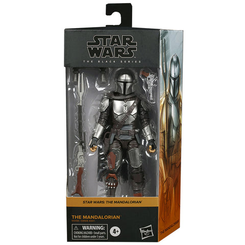 Hasbro Star Wars The Black Series Mandalorian Beskar Armor Box Package Front