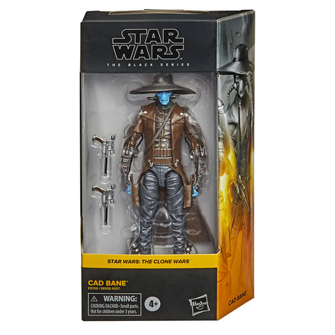 Hasbro Star Wars The Black Series Cad Bane Box Package Front