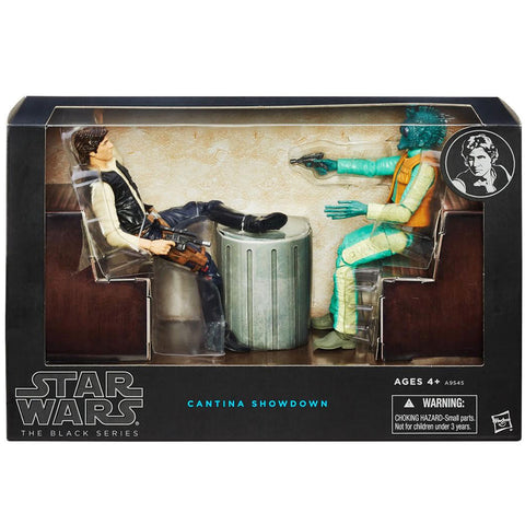 Hasbro Star Wars The Black Series Cantina Showdown Giftset Toys R Us Exclusive Box Package Front