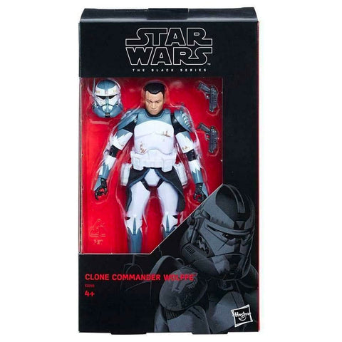 Hasbro Star Wars The Black Series Clone Commander Wolffe Box Package Front