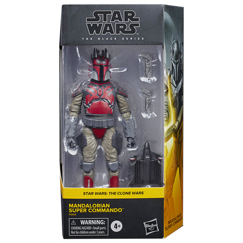Hasbro Star Wars The Black Series Clone Mandalorian Super Commando Walmart Exclusive box package front