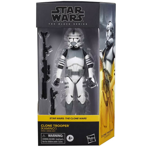Hasbro Star Wars The Black Series Clone Wars Clone Trooper Kamino box package front