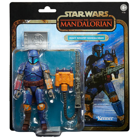 Hasbro Star Wars The Black Series Deluxe Credit Collection Heavy Infantry Mandalorian best buy exclusive box package front