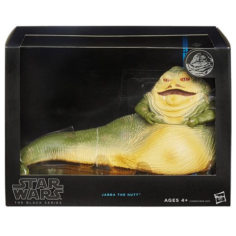 Hasbro Star Wars The Black Series Deluxe Jabba The Hutt Box Package Front