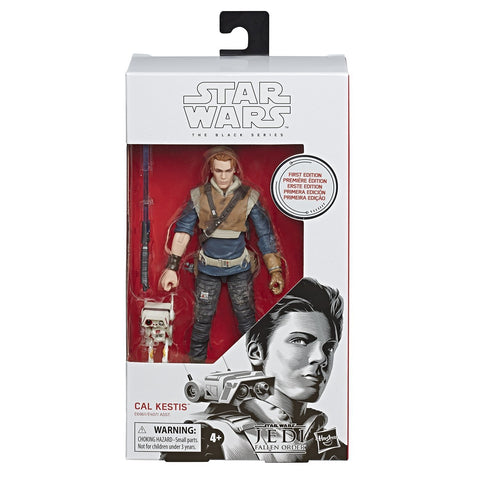 Hasbro Star Wars Fallen Empire The black series Cal Kestis White Box First Edition Package