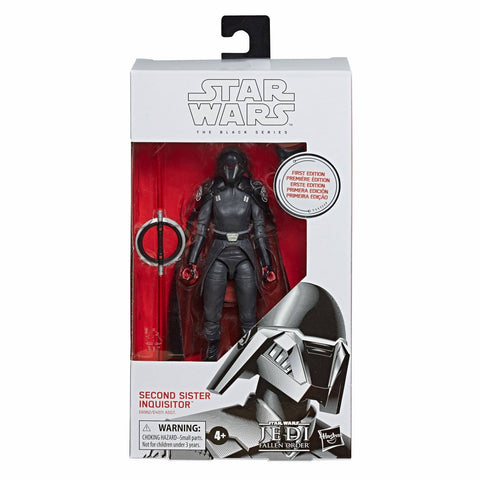 Hasbro Star Wars The Black Series First Edition White Box Second Sister Inquisitor Package