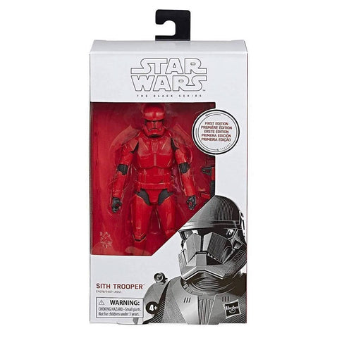 Hasbro Star Wars The black Series First Edition Sith Trooper White Box Package