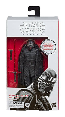 Star Wars The Black Series First Edition 90 Supreme Leader Kylo Ren White Box Package