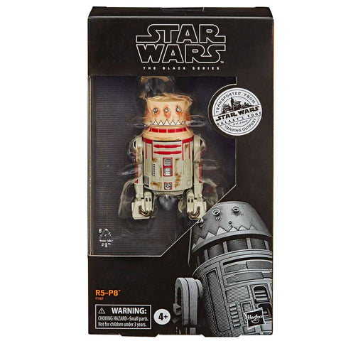 Hasbro Star Wars The Black Series Galaxy's Edge Outpost R5-P8 Target exclusive box package front