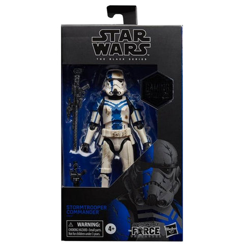 Hasbro The Black Series Gaming Greats The Force Unleashed Stormtrooper Commander Box Package Front