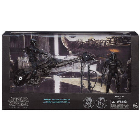 Hasbro Star Wars The Black Series Imperial Shadow Squadron Giftset Target Exclusive Box package front