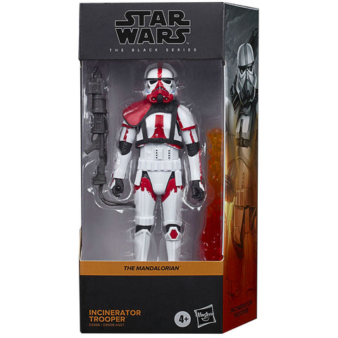 Hasbro Star Wars The Black Series Incinerator Trooper Box Package Front