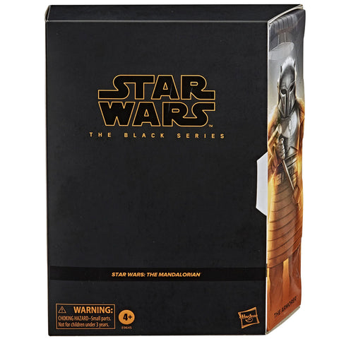 Hasbro Star Wars The Black Series Mandalorian Armorer Deluxe Exclusive Pulsecon 2020 box package front