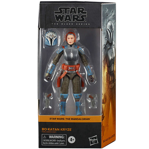 Hasbro Star Wars The Black Series Mandalorian Bo-Katan Kryze Katee Sackhoff box package front