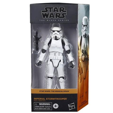 Hasbro Star Wars The Black Series Mandalorian Imperial Stormtrooper box package front