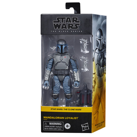 Hasbro Star Wars The Black Series Mandalorian Loyalist Walmart Box Package Front