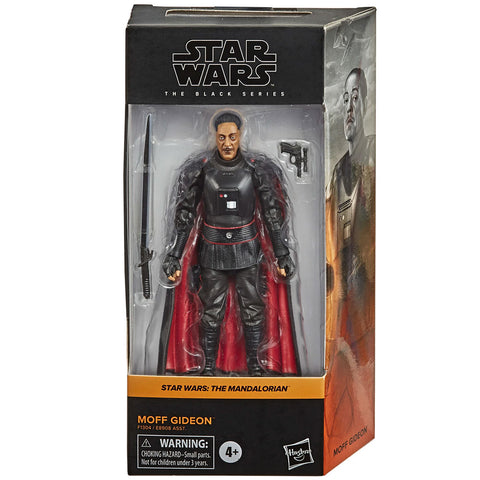 Hasbro Star Wars The Black Series Mandalorian Moff Gideon 6-inch  Empire Remnant Box Package Front