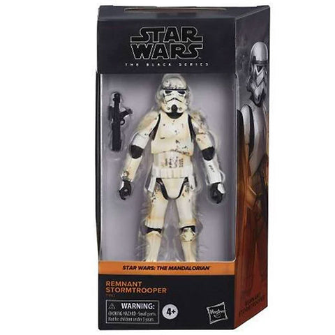 Hasbro Star Wars The Black Series Mandalorian Remnant Stormtrooper Target Exclusive box package front