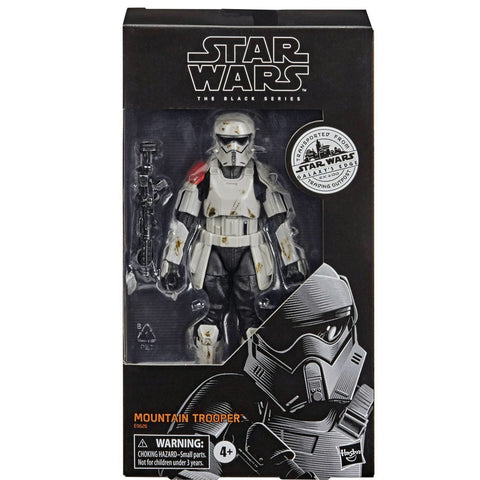 Hasbro Star Wars The Black Series Galaxy's Edge Trading Outpost Target Exclusive Mountain Trooper box package front