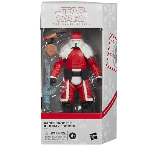 Hasbro Star Wars The Black Series Range Trooper Holiday Edition D-O Target Exclusive Box package front