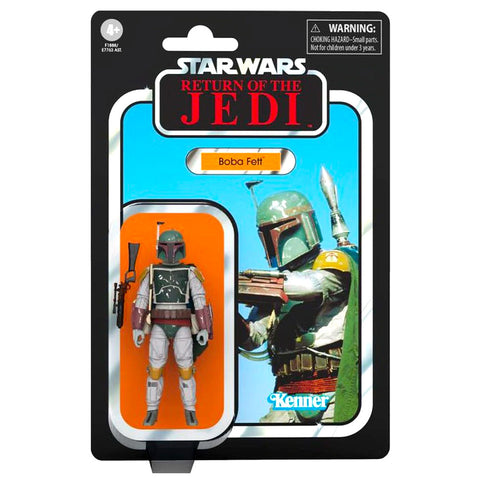 Hasbro Star Wars The Vintage Collection ROTJ Boba Fett Box package front