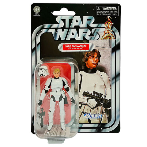 Hasbro Star Wars The Vintage Collection TVC VC169 Luke Skywalker Stormtrooper box package front