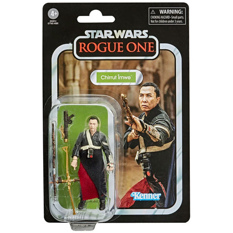 Hasbro Star Wars The Vintage Collection TV VC174 Chirrut Imwe Rogue One box package front