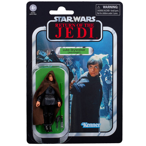 Hasbro Star Wars The Vintage Collection TVC VC175 Luke Skywalker Jedi Knight box package front