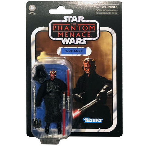 Hasbro Star wars The Vintage Collection TVC VC86 Darth Maul Reissue box package front