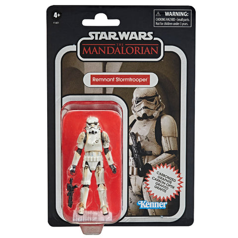 Hasbro Star Wars The Vintage Collection Mandalorian Remnant Trooper Carbonized box package front