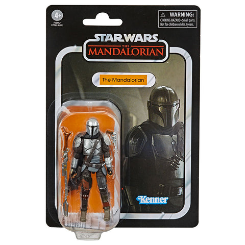 Hasbro Star Wars VC181 The Vintage Collection Mandalorian Full Beskar Armor box package front