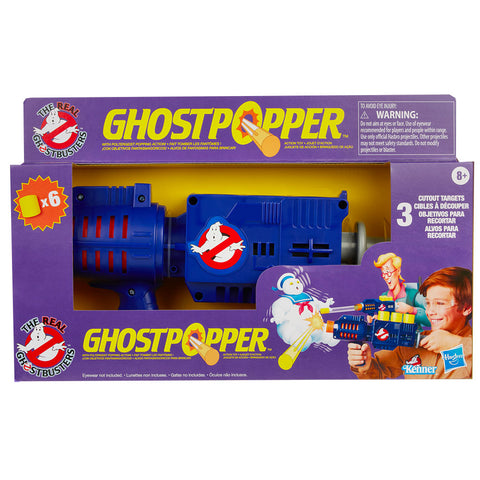 Hasbro The Real Ghostbusters Ghostpopper Reissue box package front